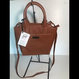 Grace Adele City Satchel small detachable strap